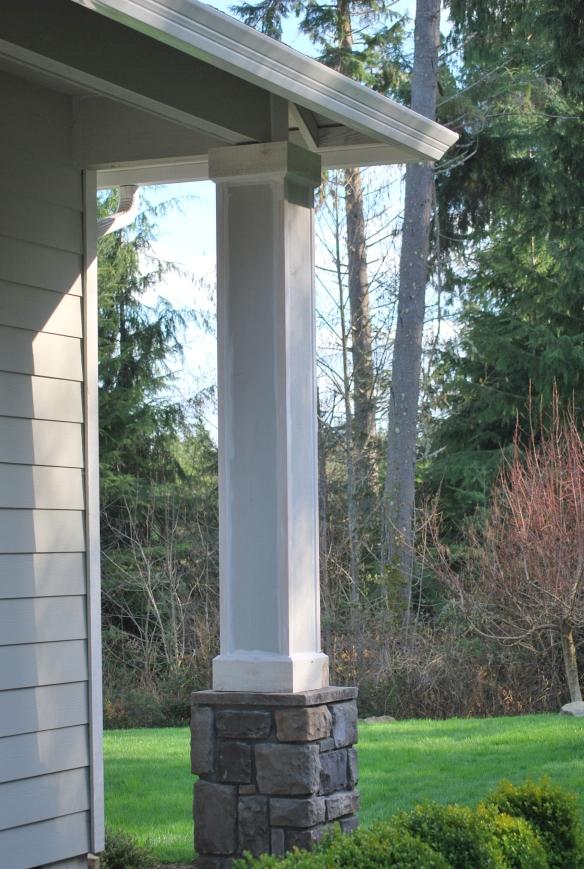 Porch Columns Update A Gathering Place